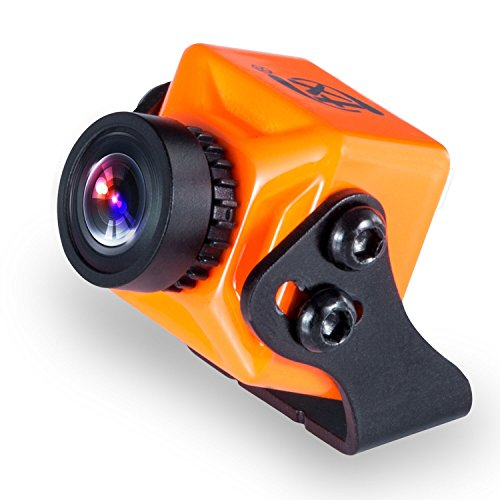 "FXT T71 Mini FPV Camera 1000TVL 1/3"" CMOS with NTFS/PAL OSD WDR for RC Drone Quadcopter (Orange) by FXT"