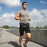 Fitletic Marathon Belt L/XL Black & Purple