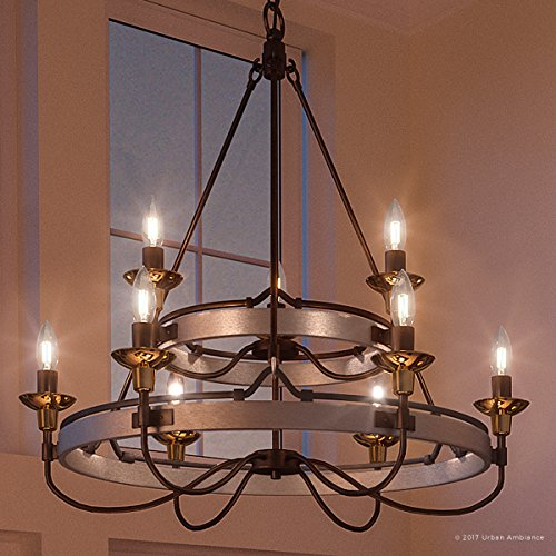 Luxury Transitional Chandelier, Large Size: 33