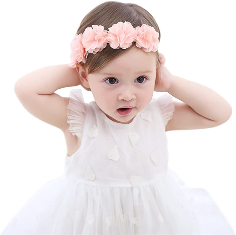 Girls Baby Toddler Princess Bow Headband Hair Band Accessories Kids Headwear