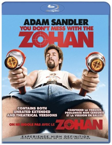 You Don't Mess With the Zohan [Blu-ray] [Blu-ray] (2008)