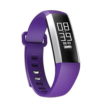 Teckey Bluetooth Smart reloj de pulsera corazón oxímetro de ...