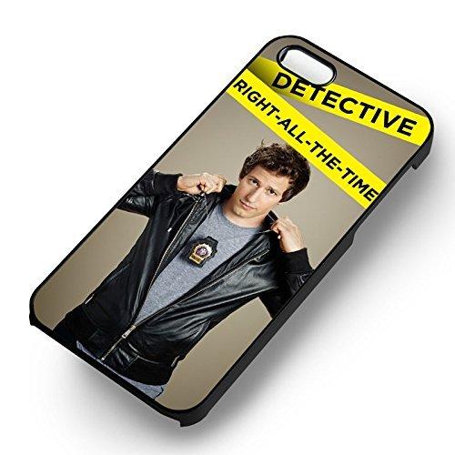 Brooklyn Nine Nine Jake pour Coque Iphone 6 et Coque Iphone 6s Case (Noir Boîtier en plastique dur) B3T0JP