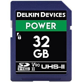 Amazon.com: Delkin Devices 32 GB SDHC de energía 2000 x UHS ...