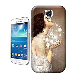 Unique Phone Case Innovation girl-06 Hard Cover for samsung galaxy s4 cases-buythecase