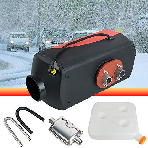 5KW 12V Air Diesel Fuel Heater 10L Tank for Car Truck Boat RV Bus Motorhome(ONLY US STOCK) - Emission Harness Wiring