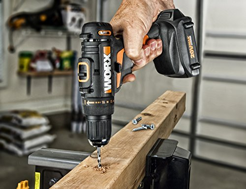 WORX WX169L 20V PowerShare Cordless Drill /& Driver