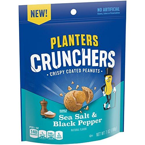 Peppers Planter - Planters Crunchers Salt & Pepper Peanuts (7 oz Bag)