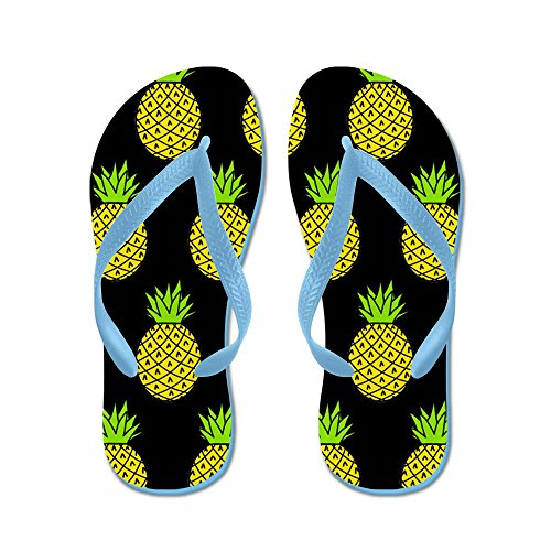 Ananas Cafepress - Infradito, Sandali Infradito Divertenti, Sandali Da Spiaggia Blu Caraibico