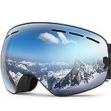 ZIONOR X Ski Snowboard Snow Goggles OTG Design for Men Women with...