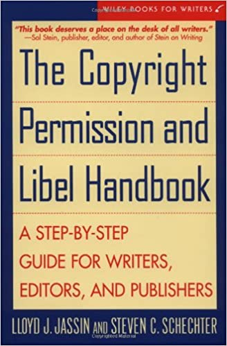 Amazon the copyright permission and libel handbook a step by isbn 13 978 0471146544 thecheapjerseys Gallery