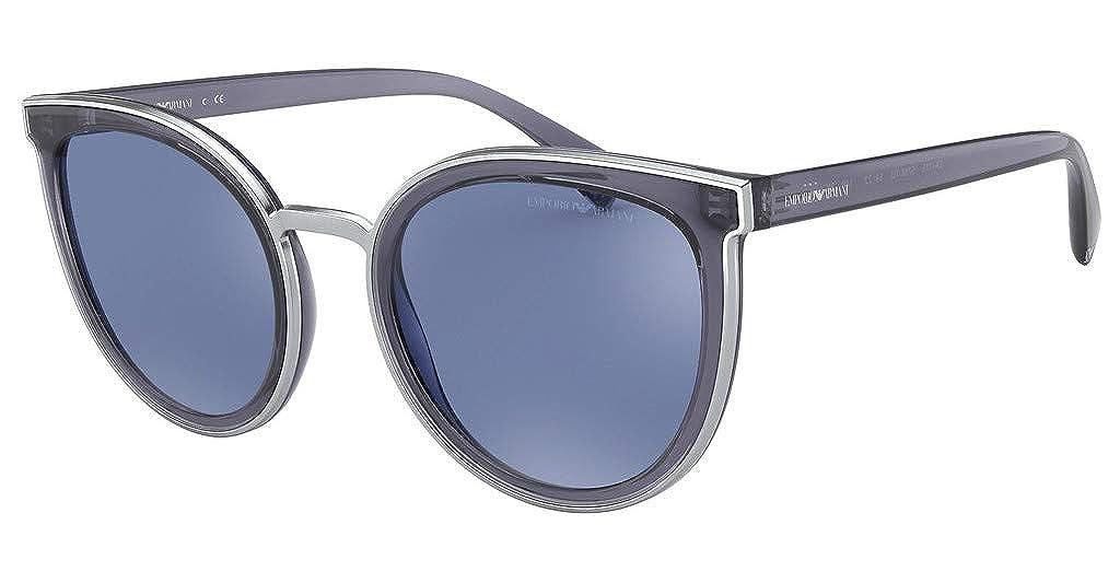 Emporio Armani 0EA4135 Gafas de sol, Transparente Jeans, 54 ...