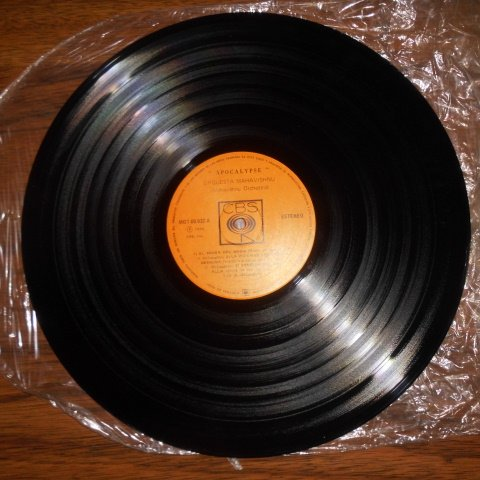 Mahavishnu Orchestra, Michael Tilson Thomas, Mahalakshmi - Apocalypse (CBS - MOT-60.032 Vinyl, LP, Album Latam Ven)  - Amazon.com Music