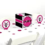 Big Dot of Happiness We've Got Spirit - Cheerleading - Birthday Party or Cheerleader Party Centerpiece & Table Decoration Kit