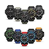 Men's Military Analog Digital Watch Display Sports Watches Multifunctional Wrist Watches for Men