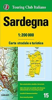 Cerdeña 1:200.000 mapa de carreteras impermeable Touring Club Italiano. Carte regionali 1:200.000: Amazon.es: VV.AA.: Libros