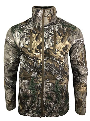 Realtree Unisex Ex Xtra Durable Brush Jacket for Hunting Fishing Outdoor