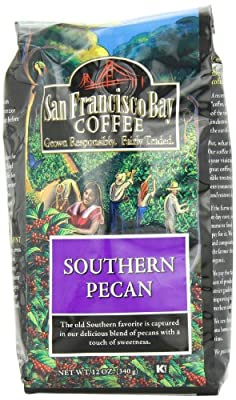 San Francisco Bay Coffee Whole Bean, Southern Pecan Coffee, 12 Ounce