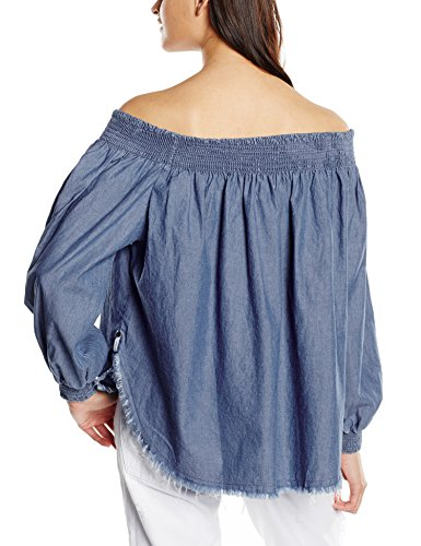 One Teaspoon Texas Sugar, Tank Top para Mujer Azul (Chambray)
