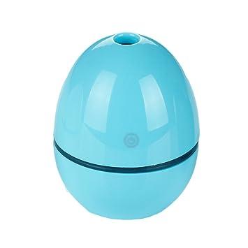 Amazon.com: Alixyz Humidifier 50ML Egg Shaped Ultrasonic Humidifier USB Portable Atomizer For Office Car And Room Humidifier(M, Blue): Beauty