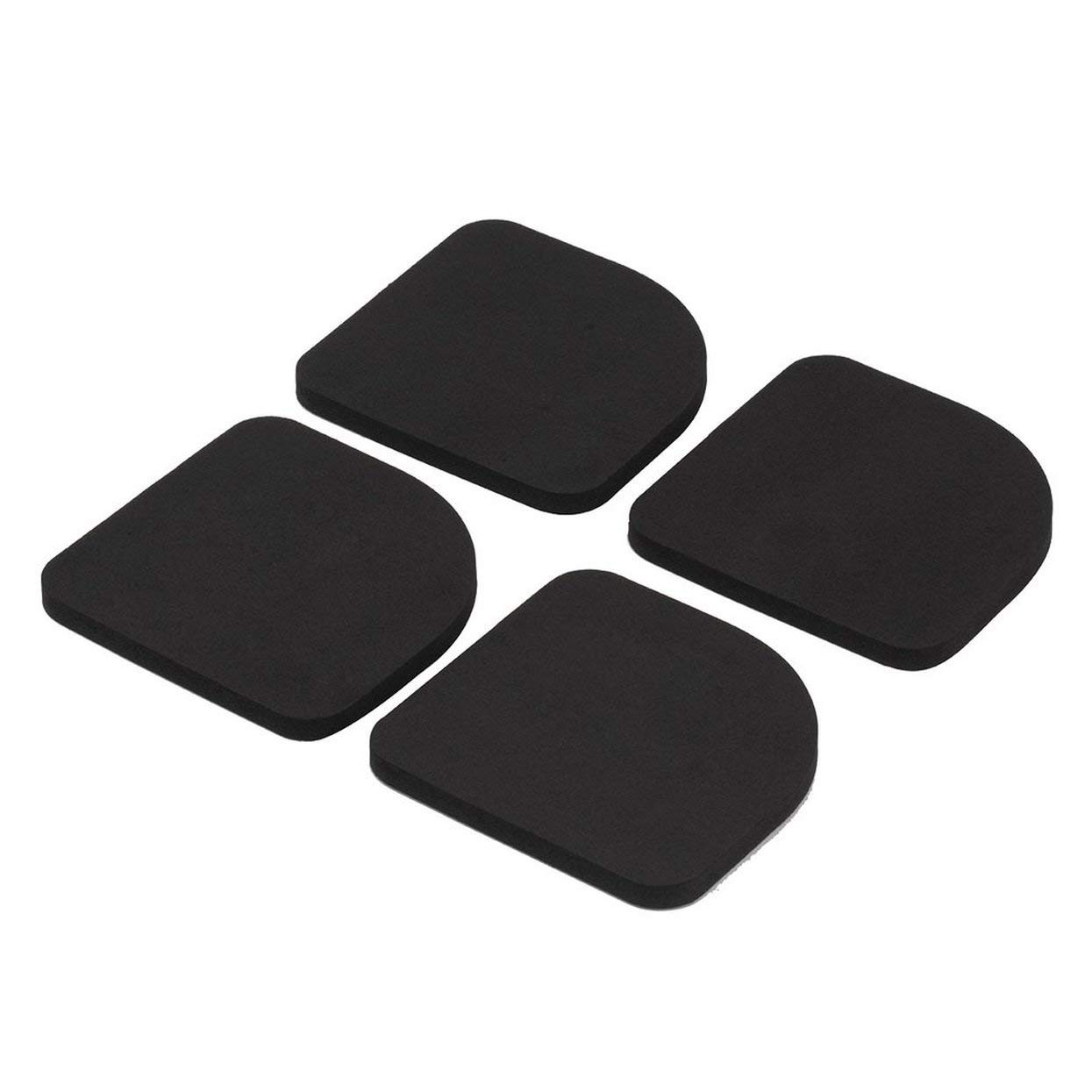 4 pcs Washer Shock Slip Mats Reducing Refrigerator Anti-vibration Noise Pad Washing Machine Shock Proof Mat YQL1010-70