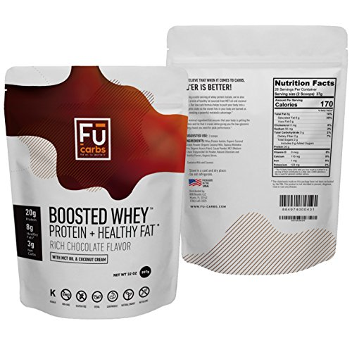 boosted whey protein isolate powder