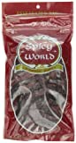 Spicy World Whole Dried Red Chili Peppers, 3.5-Ounce Bags (Pack of 24)
