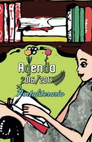 Agenda 2016 2017 portaliterario: interior blanco y negro ...