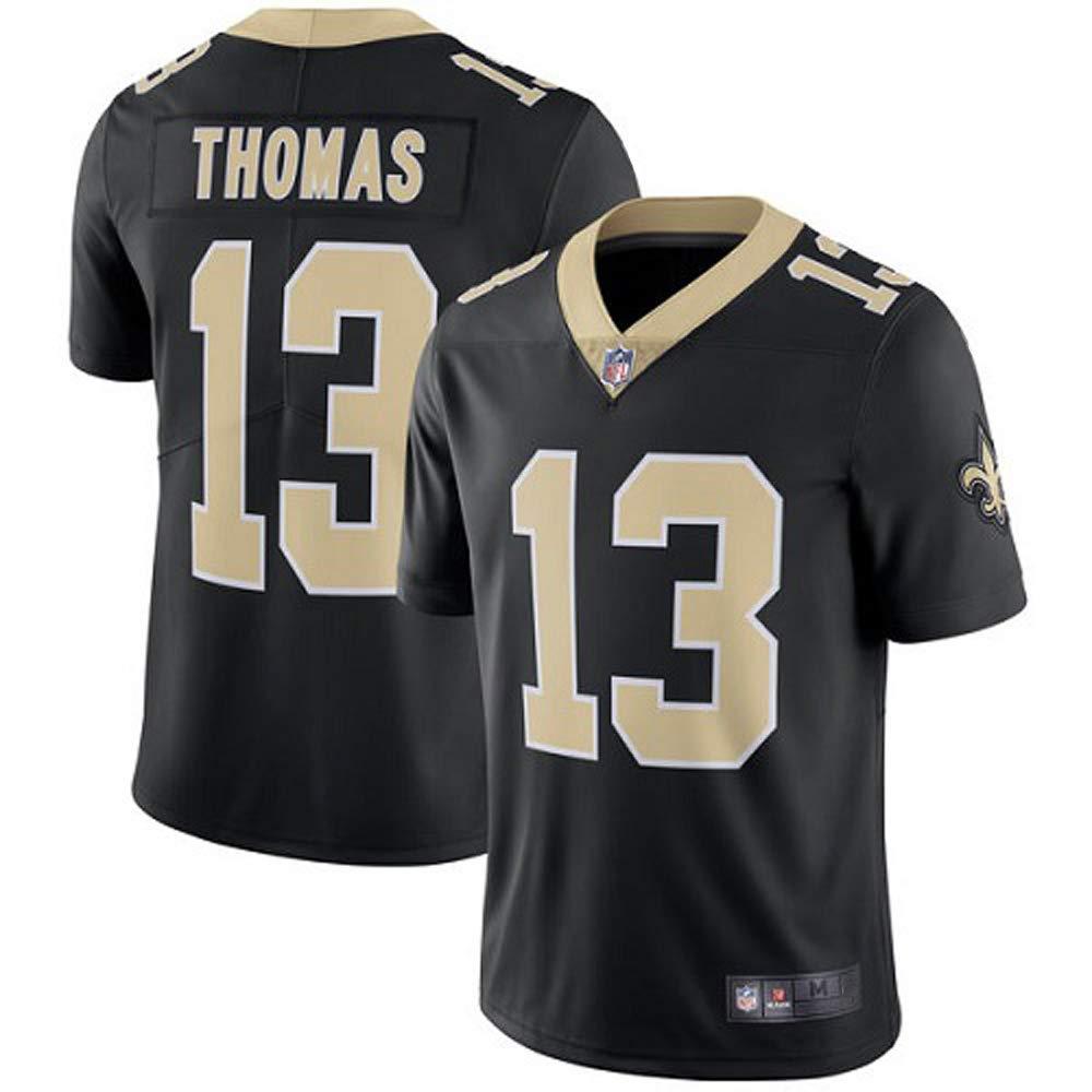 best website 913c2 2fade New Orleans Saints #13 Michael Thomas Men's Stitch Black Home Jersey