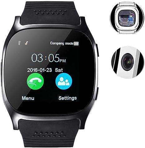 Amazon.com: Kaimu T8 Reloj inteligente multifunción con ...