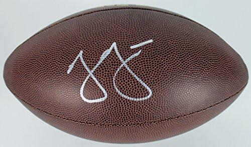 Cowboys Jason Garrett Authentic Signed Wilson NFL Football BAS #B51490