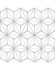 FloorPops FP2481 Kikko Floor Decal, White