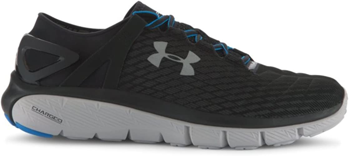 Under Armour Mens Mojo Trainers Running Shoes Lace Up Padded Ankle Collar