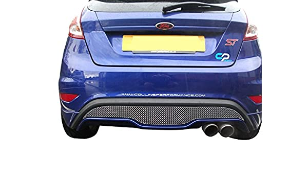 Amazon.com: Ford Fiesta ST Mk 7.5 - Rear Grille - Silver finish (2013 onwards): Automotive