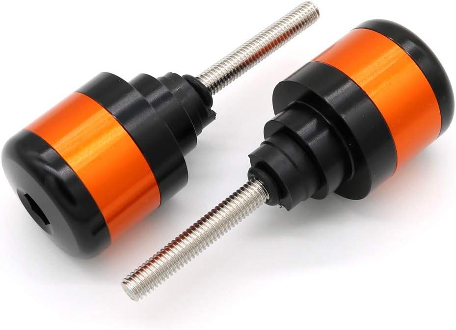 Red Xitomer Motorcycle Handlebar Bar End Plugs for HONDA CBR600F// CBR600RR// CBR 250R// CBR1100XX// GROM MSX125// CBR1000RR// VFR800