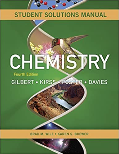 Book Student's Solutions Manual: for Chemistry: The Science in Context, Fourth Edition by Bradley Wile (2014-07-01)