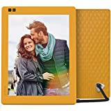 Nixplay Seed 10 WiFi Digital Photo Frame - MangoNixplay Seed 10 Inch WiFi Cloud Digital Photo Frame with IPS Display, iPhone & Android App, Free 10GB Online Storage and Motion Sensor (Mango)