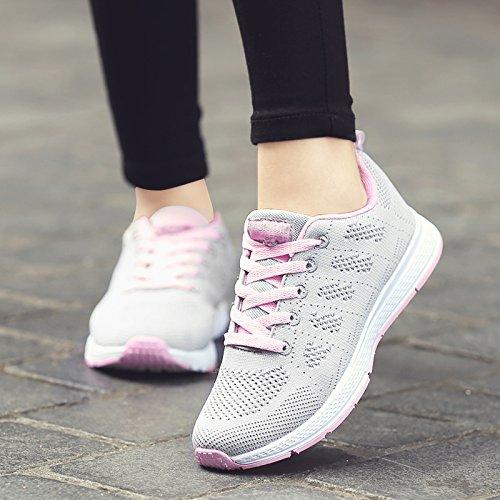 powder Zapatos de Transpirables A2 Hasag Casuales Deportivos Ash de Zapatos Zapatos Zapatillas Mujeres Zapatos Malla Oqqfw4d