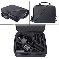 MASiKEN Shoulder Bag Storage Case EVA Hard Travel Carrying Case Box Suitcase Handbag for DJI OSMO MOBLIE - ( Black )