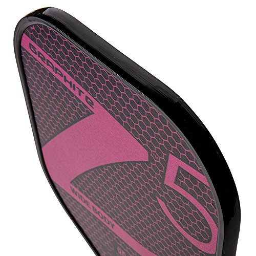 Onix Z5 Graphite Pickleball Paddle and Paddle Cover (Pink) by Onix (Image #3)