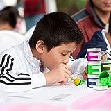 20 PCS Round Sponges Brush Set Kids Painting