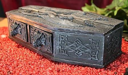 Dragon Coffin Jewellery Box Gothic Dark Fantasy Amazoncouk