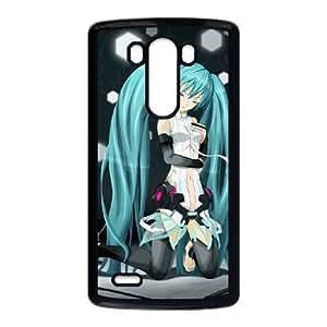 LG G3 Black phone case Video games Hatsune Miku chibiQGH8279336