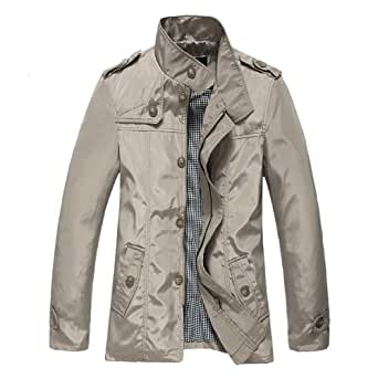 Colorfulworldstore Autumn Mens Long Coat-Mens Long Jacket