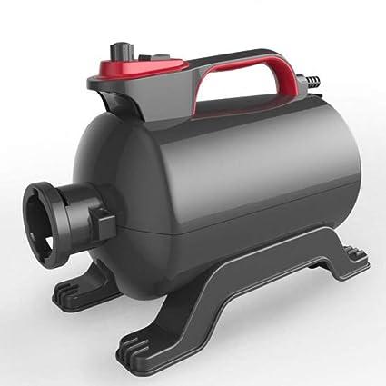 CHQQQ Secador De Mascotas 2800 W De Baja Velocidad De Ruido Sin Escalonamiento Ajustable Temperatura Blaster