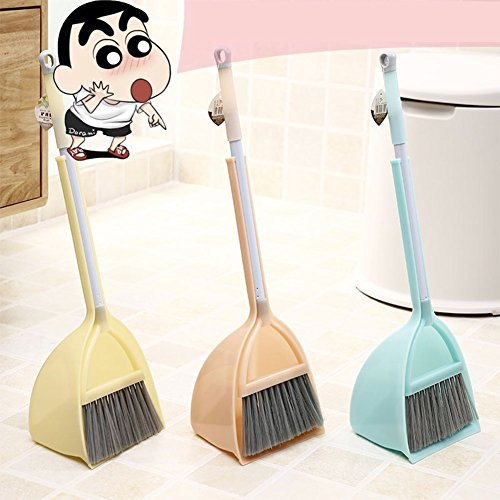 Studyset Kids Stretchable Floor Cleaning Tools Mop Broom Dustpan Play-house Toys Gift
