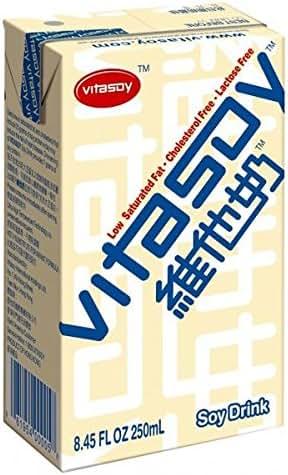 Vitasoy Soy Milk Drink, Original Flavor, 8.45oz (Pack of 24)
