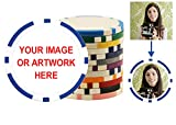 Custom Poker Chips: Put your image, Promotional Logo, or Design on a chip - 100 Full Color 11.5 gram poker chips