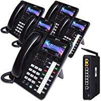 XBLUE X50 System Bundle with (5) X4040 Vivid Color Display IP Phones (X5045)