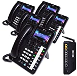 XBLUE X50 System Bundle with (5) X4040 Vivid Color Display IP Phones (X5045)